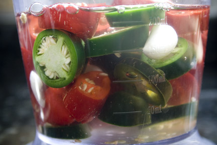 chili peppers in vinegar